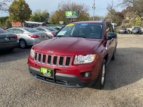 2013 Jeep Compass for sale at BK2 Auto Sales in Beloit WI