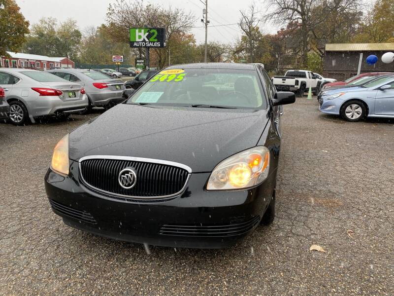 2008 Buick Lucerne for sale at BK2 Auto Sales in Beloit WI