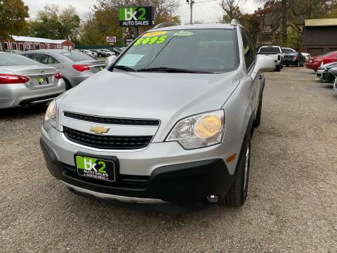 2013 Chevrolet Captiva Sport for sale at BK2 Auto Sales in Beloit WI