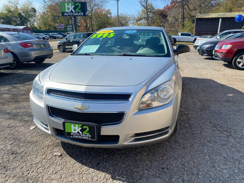 2008 Chevrolet Malibu for sale at BK2 Auto Sales in Beloit WI
