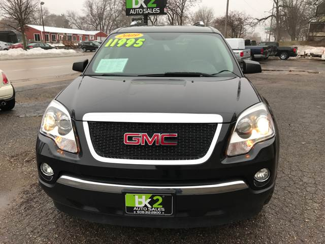 2009 GMC Acadia for sale at BK2 Auto Sales in Beloit WI