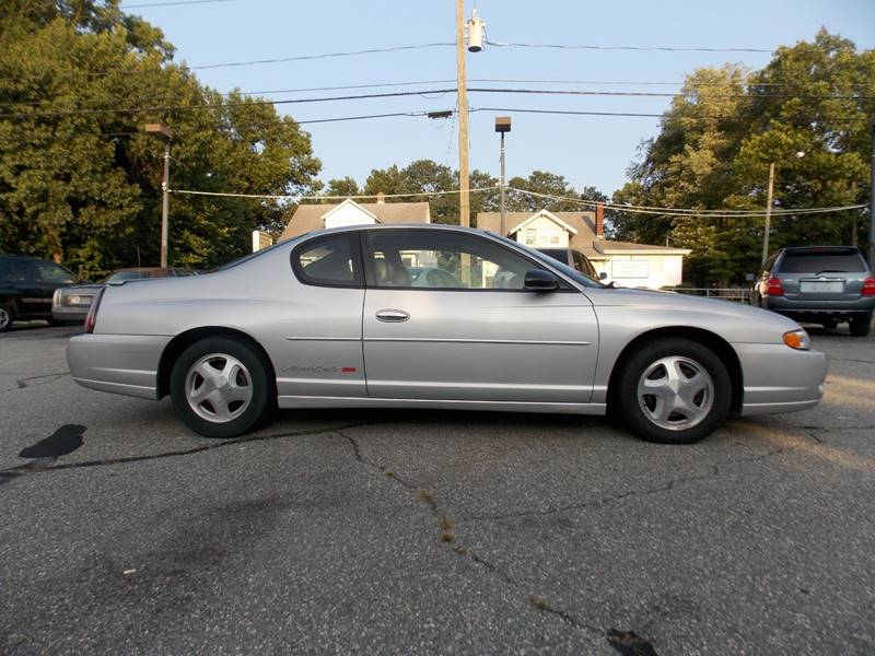 2003 Chevrolet Monte Carlo SS 2dr Coupe In Springfield MA