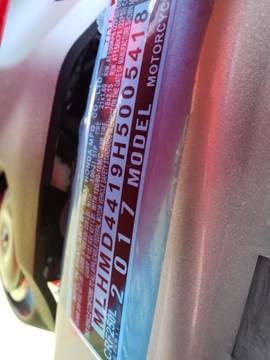 2017 Honda CRF 250L