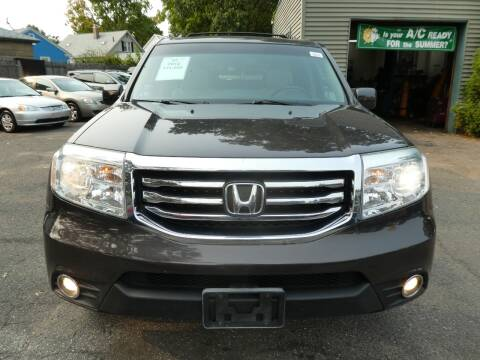 2012 Honda Pilot for sale at Wheels and Deals in Springfield MA