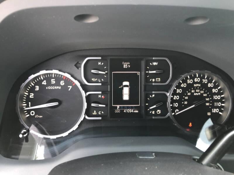 2019 Toyota Tundra 4x4 SR5 4dr CrewMax Cab Pickup SB (5.7L V8) - Shingle Springs CA