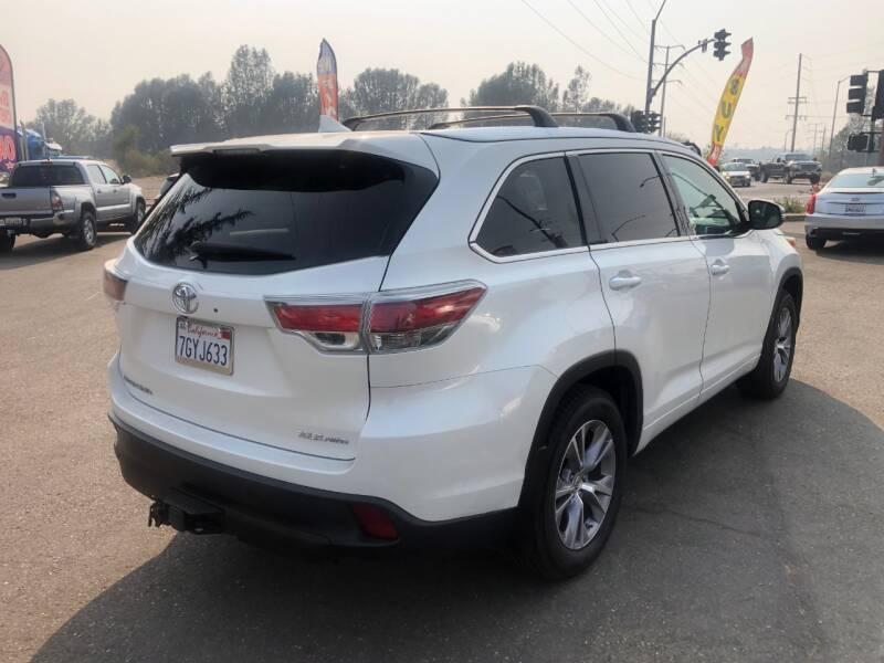 2014 Toyota Highlander AWD XLE 4dr SUV - Shingle Springs CA