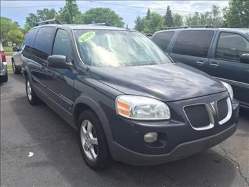 2009 Pontiac Montana for sale in Redford, MI