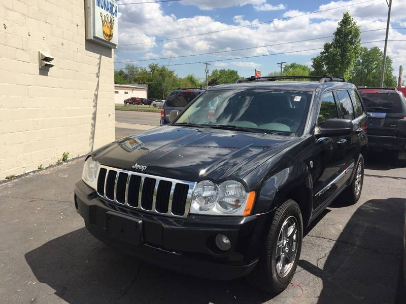 2005 jeep grand cherokee 4dr limited 4wd suv in redford mi monarch car corp. Black Bedroom Furniture Sets. Home Design Ideas