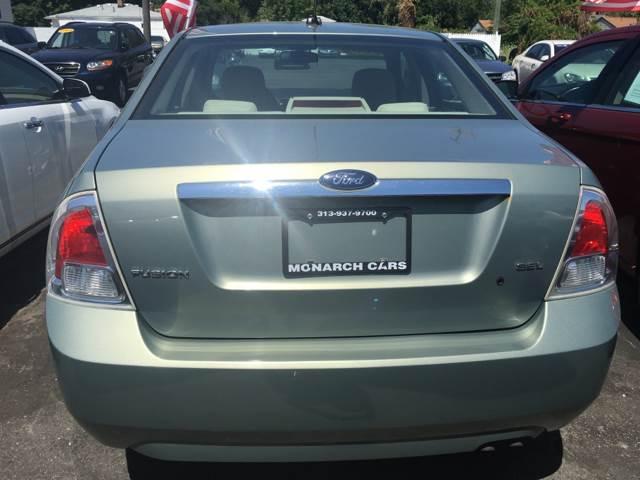 2009 Ford Fusion SEL 4dr Sedan - Redford MI