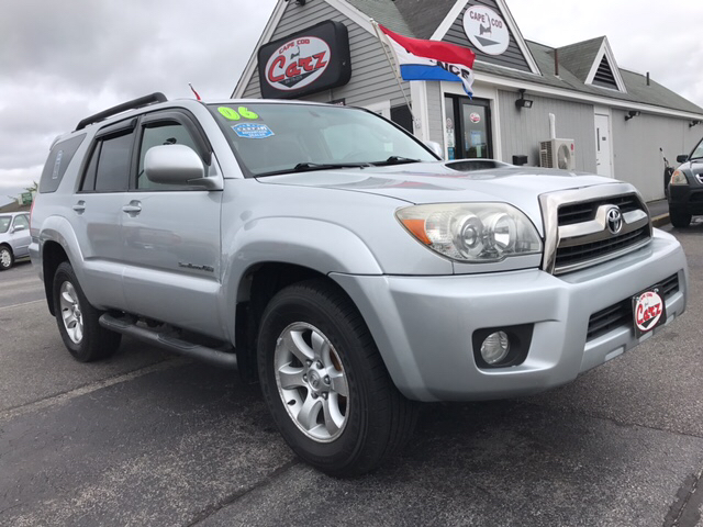 2006 Toyota 4Runner Sport Edition 4dr SUV 4WD W/V6   Hyannis MA