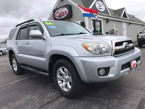2006 Toyota 4Runner for sale at Cape Cod Carz in Hyannis MA