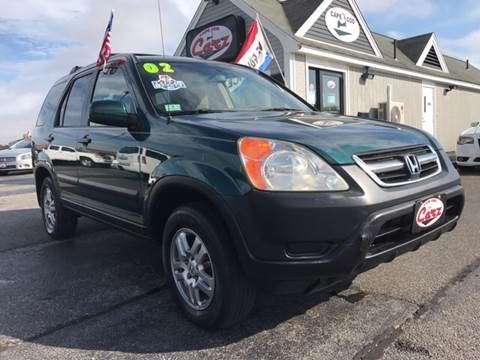 2002 Honda CR-V for sale at Cape Cod Carz in Hyannis MA