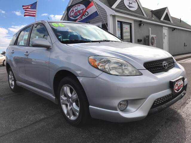 2006 TOYOTA MATRIX XR AWD 4DR WAGON silver low miles one family owned all wheel drive