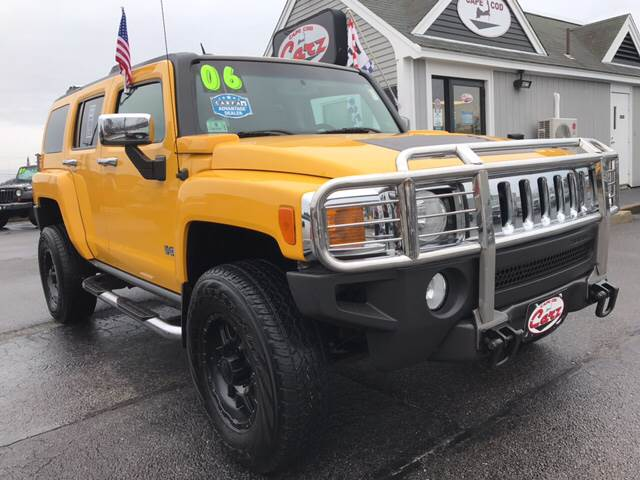 2006 HUMMER H3 BASE 4DR SUV 4WD yellow baywatch yellow only 60197 original miles carfax