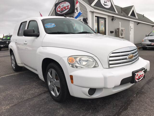 2010 CHEVROLET HHR LS 4DR WAGON white perfect for small business maybe delivery vehicle  man