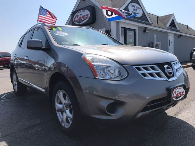 2011 NISSAN ROGUE SV AWD 4DR CROSSOVER gray one ownernew car dealer trade all wheel driv