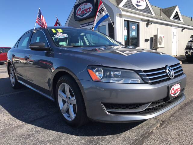 2013 VOLKSWAGEN PASSAT SE PZEV 4DR SEDAN 6A gray one owner carfax certified low monthly