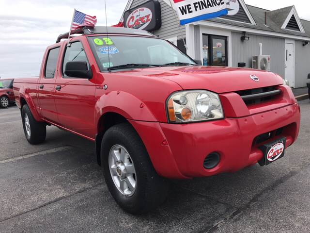 2003 NISSAN FRONTIER SC V6 4DR CREW CAB 4WD LB red supercharged and super low miles  only 758