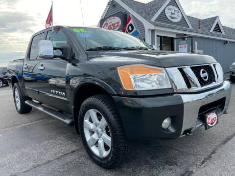 2008 Nissan Titan for sale at Cape Cod Carz in Hyannis MA
