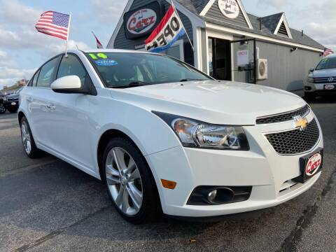 2014 Chevrolet Cruze for sale at Cape Cod Carz in Hyannis MA