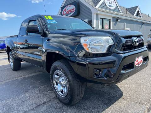 2015 Toyota Tacoma for sale at Cape Cod Carz in Hyannis MA