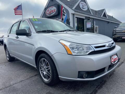 2011 Ford Focus for sale at Cape Cod Carz in Hyannis MA