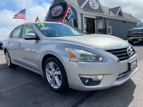 2013 Nissan Altima for sale at Cape Cod Carz in Hyannis MA