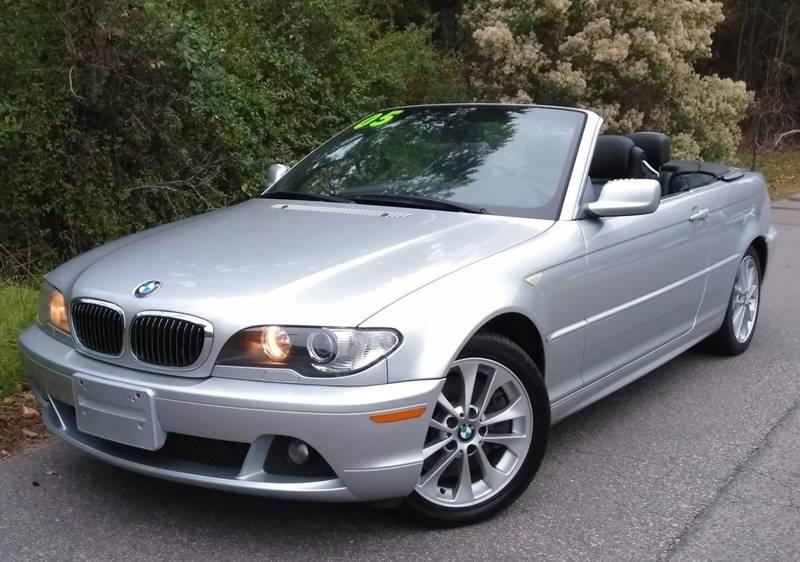 Bmw Series Ci Dr Convertible In Durham NC Moores Motors - Bmw 2005 convertible