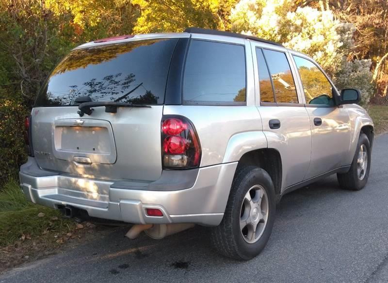 2008 Chevrolet TrailBlazer 4x4 LS Fleet1 4dr SUV - Durham NC