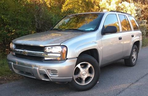 2008 Chevrolet TrailBlazer for sale at Moore's Motors in Durham NC