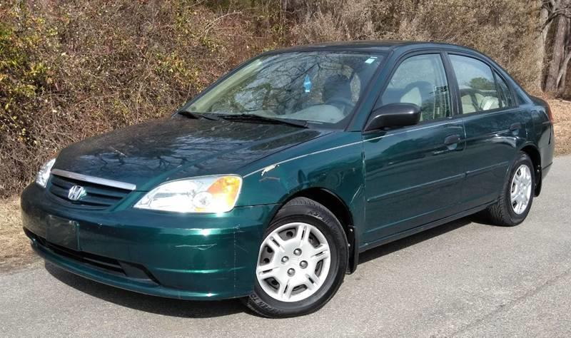 2001 Honda Civic for sale at Moore's Motors in Durham NC