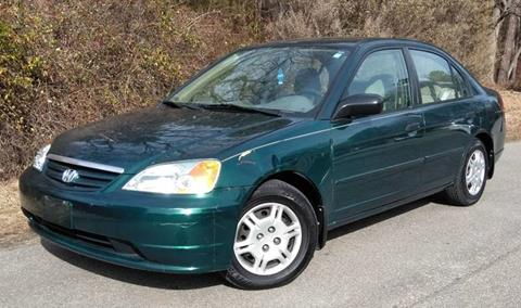 2001 Honda Civic for sale at Moore's Motors in Durham NC