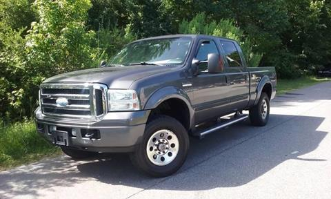 2005 Ford F-250 Super Duty for sale at Moore's Motors in Durham NC