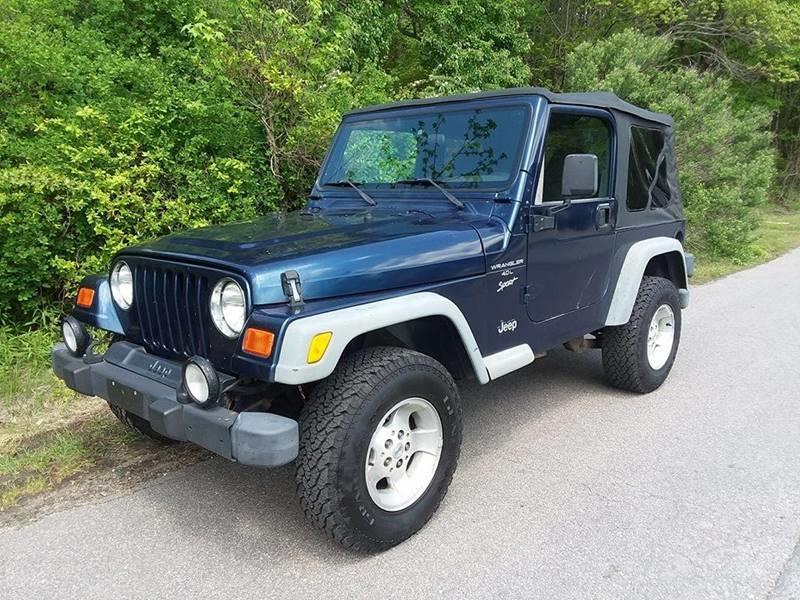 2001 Jeep Wrangler for sale at Moore's Motors in Durham NC