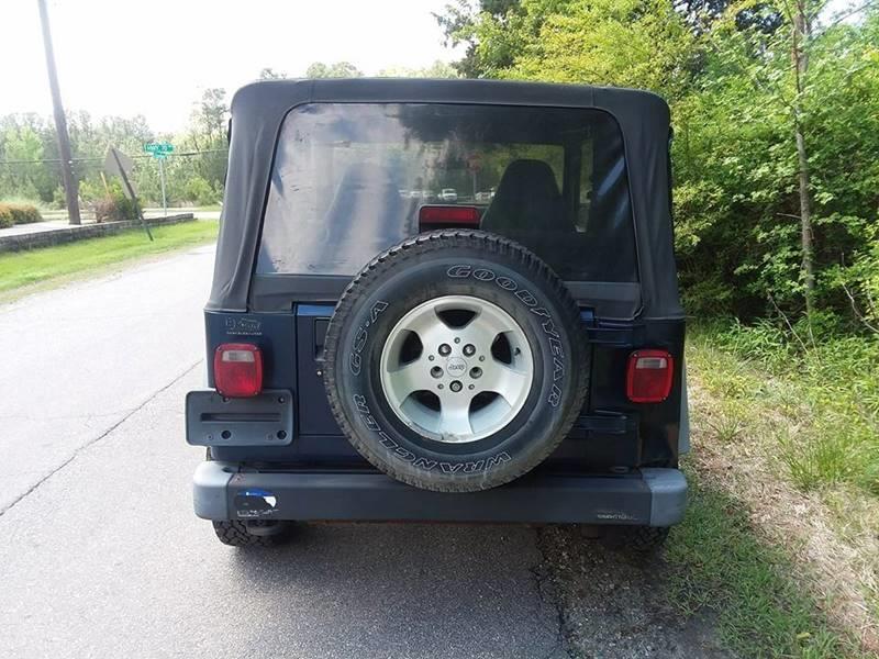 2001 Jeep Wrangler Sport 4WD 2dr SUV - Durham NC