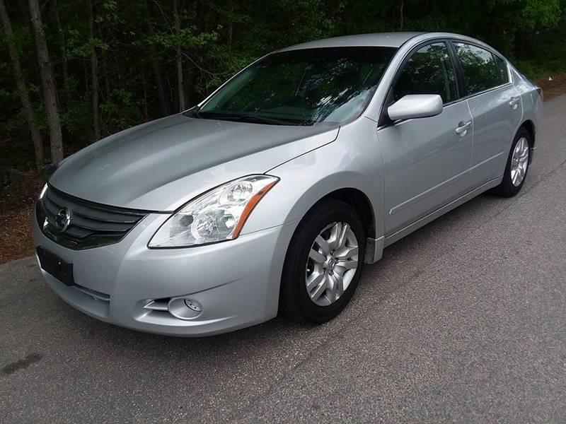 2012 Nissan Altima for sale at Moore's Motors in Durham NC