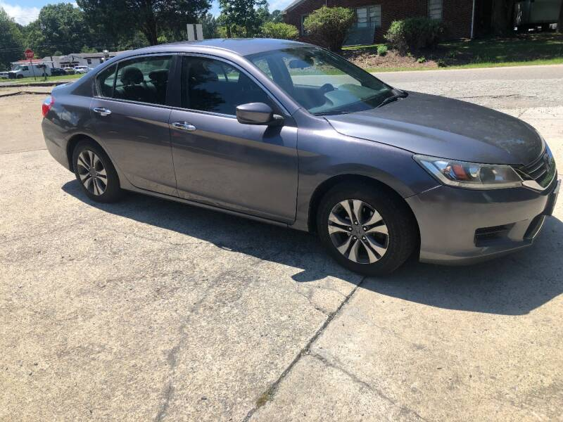 2014 Honda Accord LX 4dr Sedan CVT - Durham NC