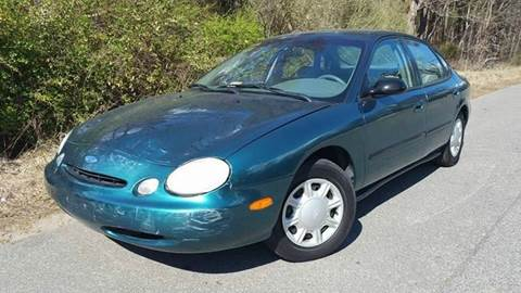 1996 Ford Taurus for sale at Moore's Motors in Durham NC