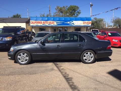 2005 Lexus LS 430 for sale in Amarillo, TX
