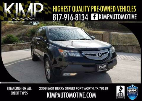 2007 Acura Mdx For Sale In Fort Worth Tx