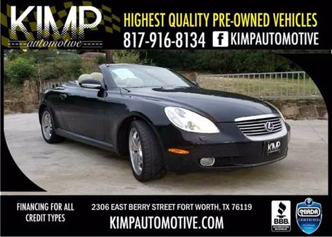 2002 Lexus SC 430 for sale in Fort Worth, TX