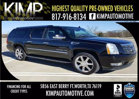2010 Cadillac Escalade ESV for sale in Fort Worth, TX
