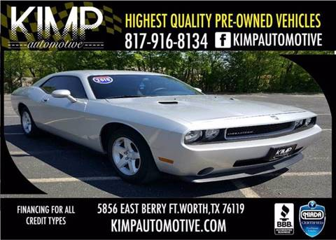 Used 2010 dodge challenger for sale in texas for Rainbow motors el paso tx