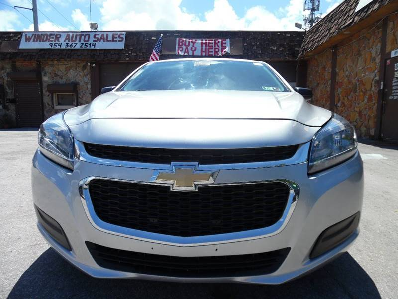 2014 Chevrolet Malibu LS Fleet 4dr Sedan - Hollywood FL
