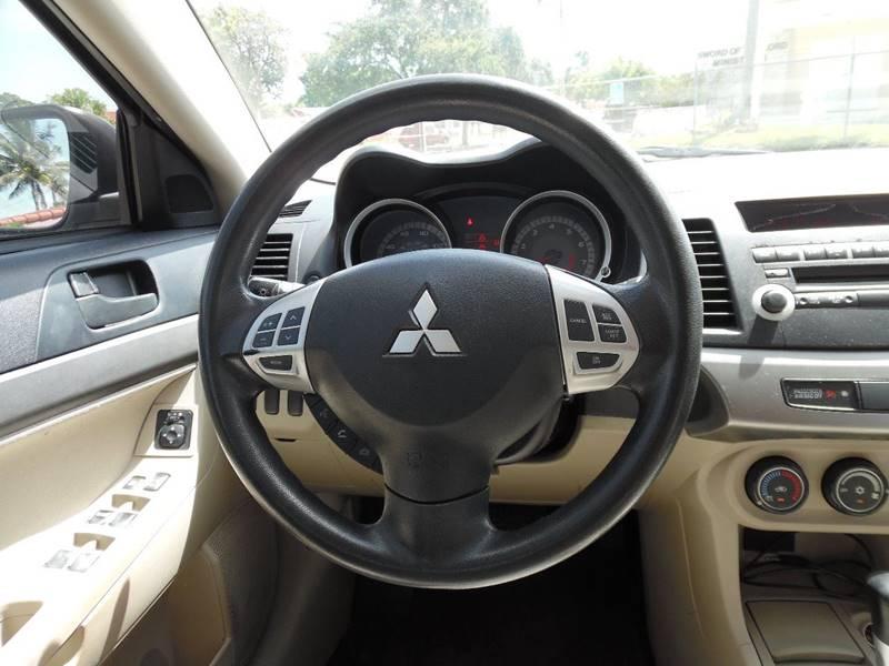 2008 Mitsubishi Lancer ES 4dr Sedan CVT - Hollywood FL