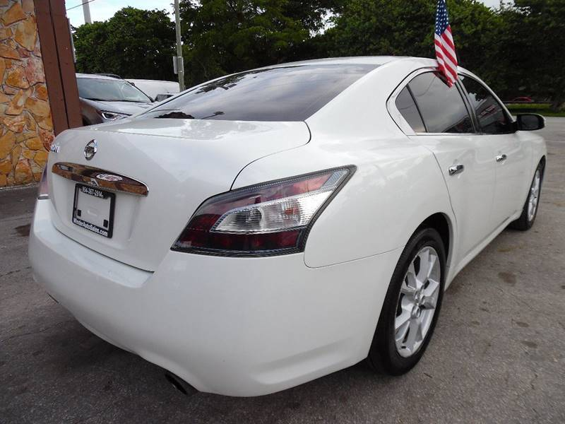 2013 Nissan Maxima 3.5 SV 4dr Sedan - Hollywood FL