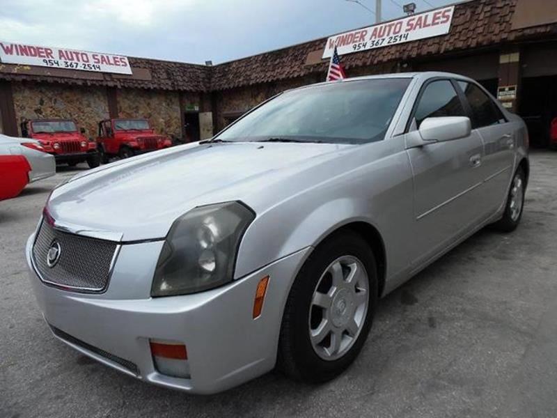 2003 Cadillac CTS 4dr Sedan - Hollywood FL