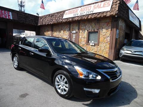 2013 Nissan Altima for sale in Hollywood, FL