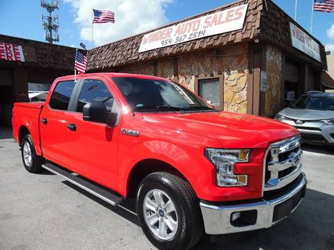 2016 Ford F-150 for sale in Hollywood, FL