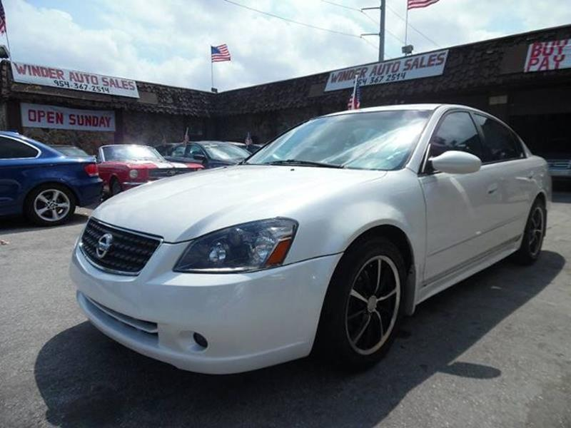 2006 Nissan Altima 3.5 SE 4dr Sedan w/Manual - Hollywood FL